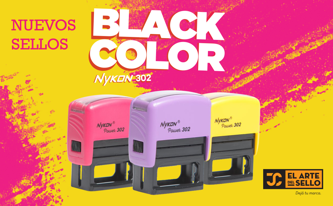 NYKON 302 Color Black